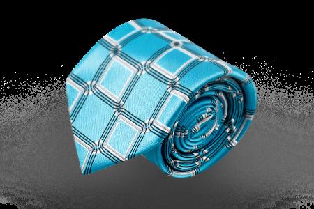 d9d2f5a33119 Купить Голубой галстук с орнаментом в салонах «Manzetti» в Москве и ...